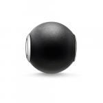 Thomas Sabo Karma black matt obsidian bead K0001-023-11