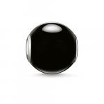 Thomas Sabo Karma black obsidian bead K0002-023-11