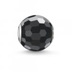 Thomas Sabo KARMA black faceted bead K0003-023-11