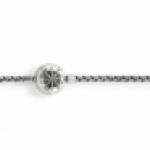 thomas sabo karma beads blackened ribbon chain