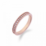 ​Emozioni Infinito Rose Gold Plated Ring