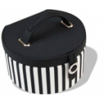 ​Thomas Sabo Black & White Striped Jewellery Box DK80