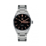 ​TAG Heuer Carrera Calibre 5 Automatic 41mm Black Day-Date Dial WAR201C.BA0723