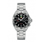 TAG Heuer Formula 1 Stainless Steel Black Chronograph Dial WAZ111A.BA0875