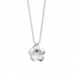 ChloBo Newbies Collection Dimaond Cut Chain with Peace Flower Pendant SCDC05139