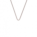 Emozioni Rose Gold Plated 24'' Popcorn Chain CH060