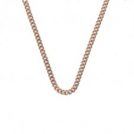 Emozioni Rose Gold Plated Belcher Chain 18'' CH013