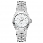 ​Tag Heuer Stainless Steel White MOP Dial Lady Link Watch WBC1310.BA0600