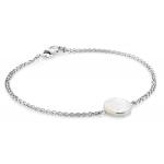 Jersey Pearl Dune MOP Silver Bracelet DUB-SS