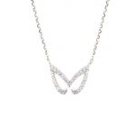 Vamp London Silver Unmasked Necklace HMN049-SI-C