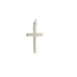 Curteis 9ct Yellow Gold Plain Cross No 29 XGCROS61