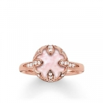 Thomas sabo Solitaire Ring Pink Lotus TR2027-537-9