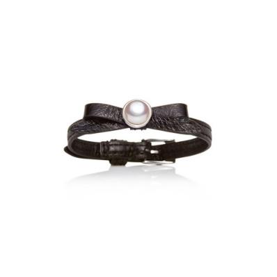 Jersey Pearl Joli D Or Noir Bracelet