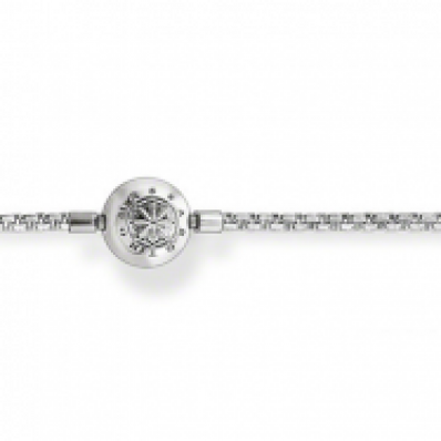 Thomas sabo karma beads ribbon chain
