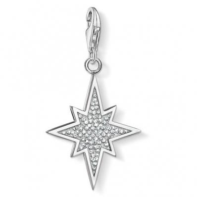 Thomas Sabo Charm Pendant Glitter Star 1540-051-14
