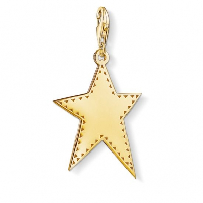 Thomas Sabo Charm Pendant Golden Star Y0040-413-39