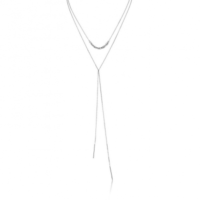 Ania Haie Links Lariat Necklace N004-02H