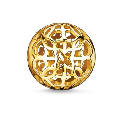 Thomas Sabo KARMA YGP arabesque style bead K0056-413-12