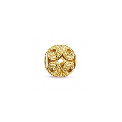Thomas Sabo KARMA YGP wave bead K0051-413-12