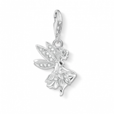 ​Thomas Sabo Silver Stone Set Elf/Pixie Charm 1292-051-14