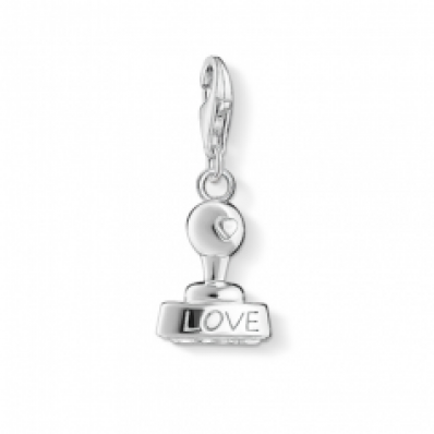​Thomas Sabo Silver Love Stamp Charm 1312-001-12