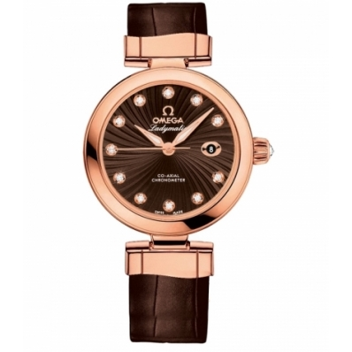 Ladies Omega De Ville Ladymatic Omega Co-Axial 34mm Watch 425.63.34.20.63.001
