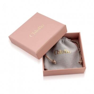 ChloBo Newbie Collection Mini Noodle Sparkle Rice Love Heart Bracelet SBMNSR092