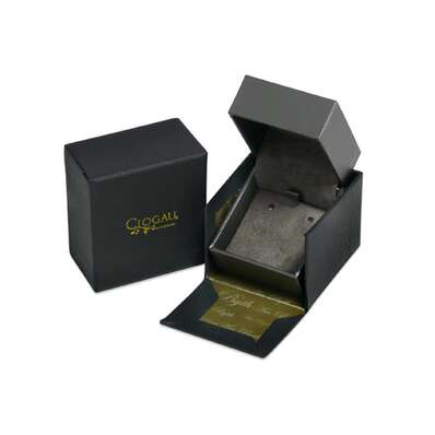 Clogau Silver Welsh Royalty Earrings 3SEDE4