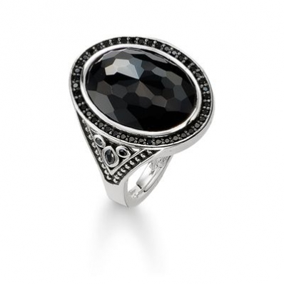 Thomas Sabo Sterling Silver Glam and Soul Cocktail Ring TR2020-641-11