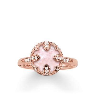 ​Thomas sabo Solitaire Ring Pink Lotus TR2027-537-9