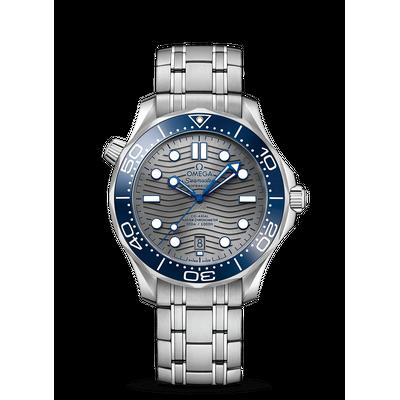 Omega Seamaster Diver 300M Grey Dial 42mm