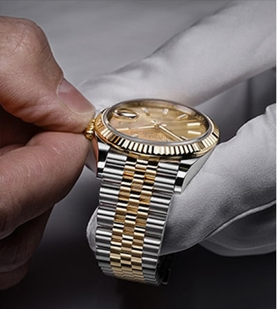 SERVICING YOUR ROLEX